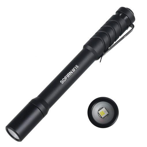 Sofirn SP31UV 365nm UV zseblámpa - fekete