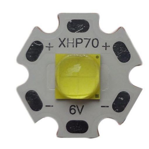 Cree XHP70.2 P2 1C  20mm-es csillagon