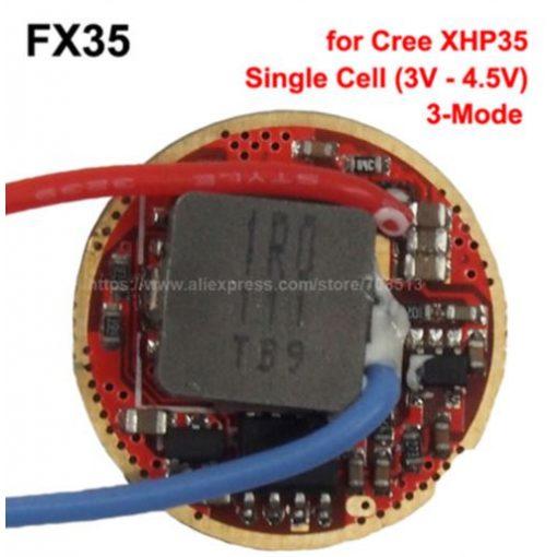 FX-35 3 fokozatú driver Cree XHP35-höz