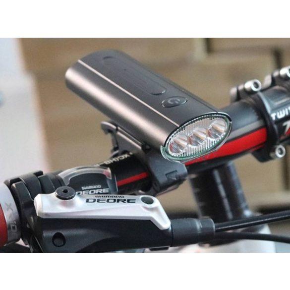 Boruit QB210 első kerékpárlámpa 3 leddel