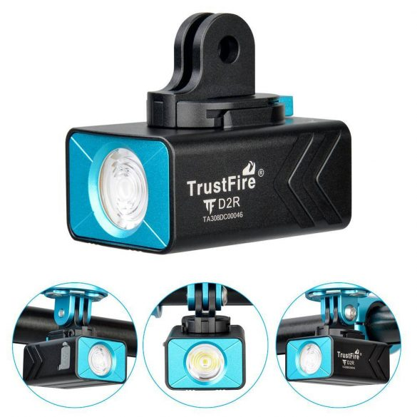 Trustfire D2R tölthető kerékpár lámpa
