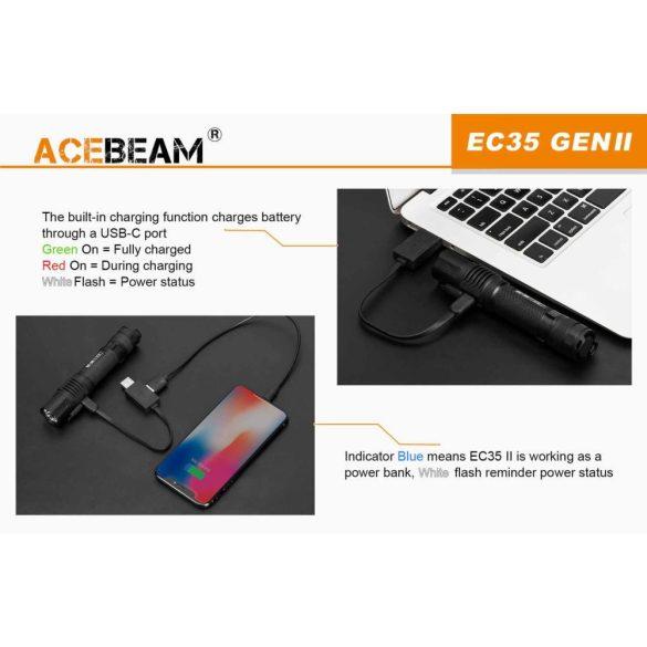 Acebeam EC35 II zseblámpa
