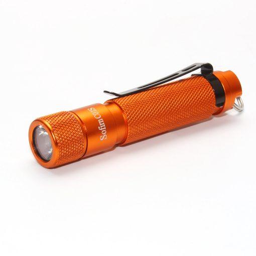 Sofirn C01S EDC minilámpa komoly fényerővel - narancs