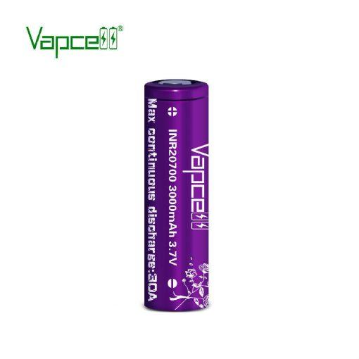 Vapcell 20700 3000mah 30A tölthető li-ion akkumulátor