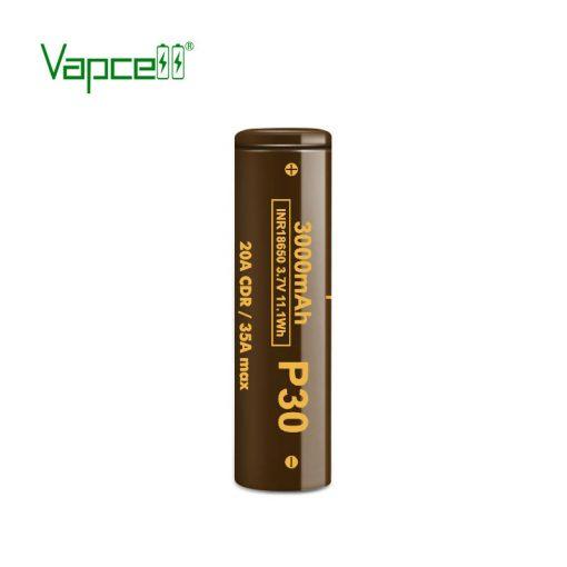 Vapcell P30 18650 3000mah 20A tölthető li-ion akkumulátor