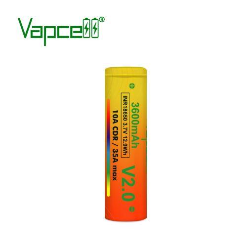 Vapcell V2 18650 3600mah tölthető li-ion akkumulátor