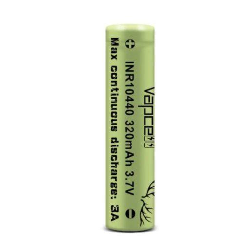 Vapcell INR10440 320mah 3A tölthető li-ion akkumulátor