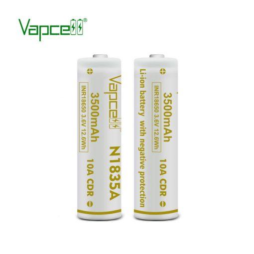 Vapcell N1835A 18650 3500mah tölthető li-ion akkumulátor